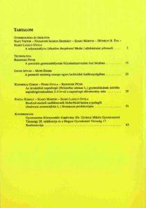 Magyar Gyomkutatás és Technológia 12/1 hátlap