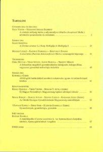Magyar Gyomkutatás és Technológia 12/2 hátlap
